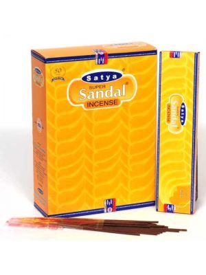 Satya Super Sandal Incense 20g Box/12