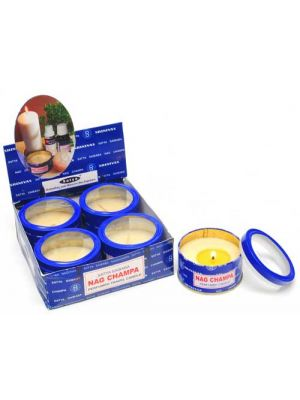 Nag Champa Travel Candle Set/4