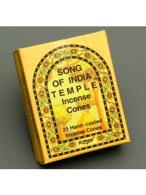 India Temple Cones 25 pcs - 12 packs - DAMAGED