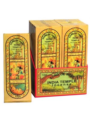 India Temple Incense 150g - 12 packs - DAMAGED