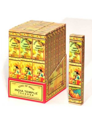 India Temple Incense 15g - 24 packs