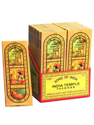 India Temple Incense 60g - 18 packs