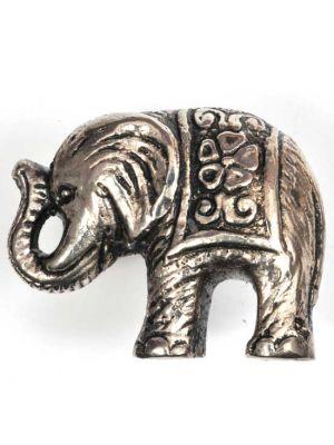 Metal Elephant Knob.