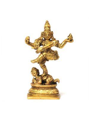 Brass Natraja Figurine 2.75