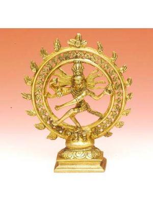 Brass Natraja Fine 6