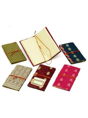 Hand Made Notebooks Sparkling Small - Set/6
