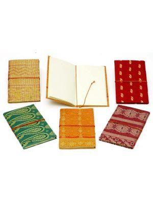 Hand Made Notebooks Sparkling Large - Set/6
