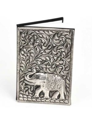 Metal Cover Elephant Notebook 6