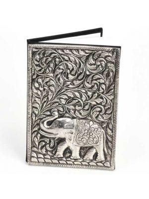Metal Cover Elephant Notebook 6