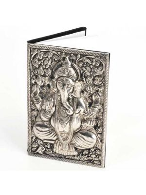 Metal Cover Ganesha Notebook 6