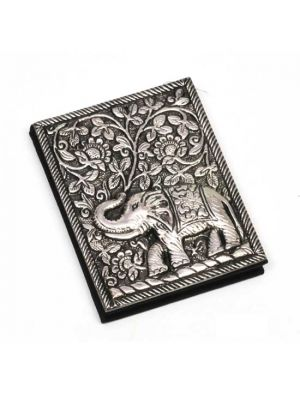 Metal Cover Elephant Notebook 4