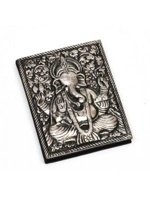 Metal Cover Ganesha Notebook 4