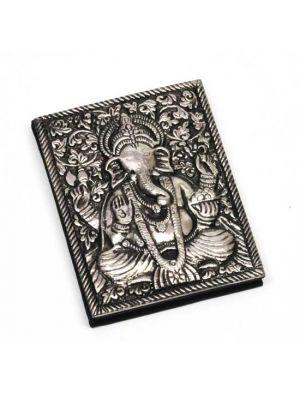 Metal Cover Ganesha Notebook 4