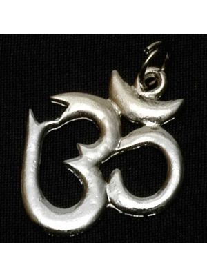 Pendent Om Silver Metal