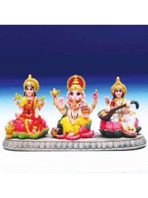 Polyresin Laxmi, Ganesha, Saraswati