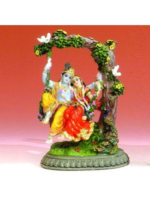 Polyresin Radha Krishna 6