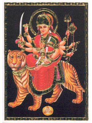 Durga On Lion  7