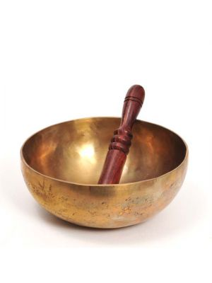 Hand Hammered Brass Singing Bowl 0.9kg