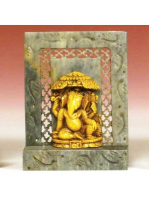 Stone Shrine Chhaya  Ganesh 4