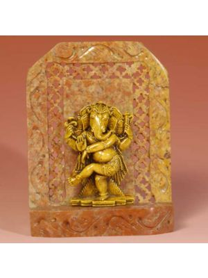 Stone Shrine Dancing Ganesh 4