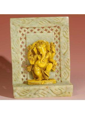 Stone Shrine Laddu   Ganesh 4