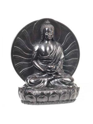 Resin Buddha with Aura 6