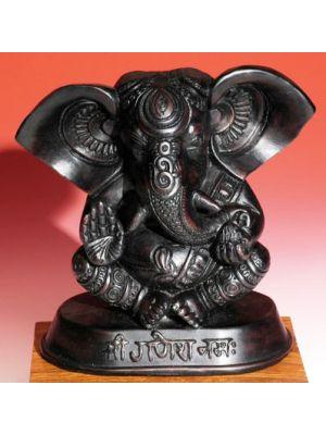 Resin Blessing Om Ganesha 6.5
