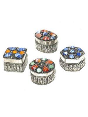 Silver Polish Box Set/4 Mosaic