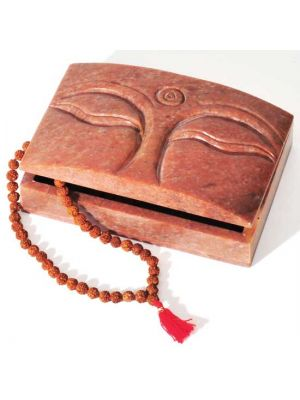Buddha Eyes Stone Box 6