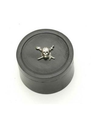 Stone Black Box Skull 2.5