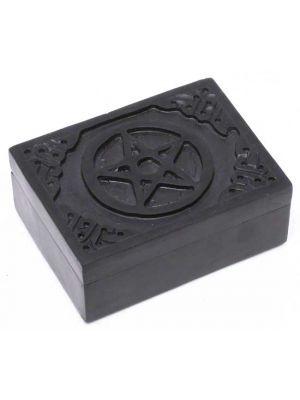 Star Black Soapstone Box 3