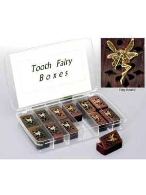 Tooth Fairy Boxes 12pcs with Display