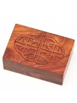 Carved Wood Box 6
