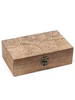 Mango Wood Box With Clasp 8