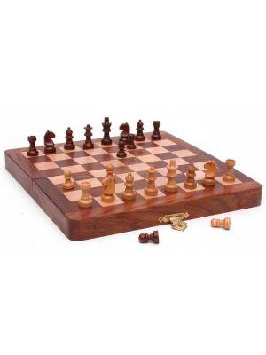 Folding Wood Chess Set 8