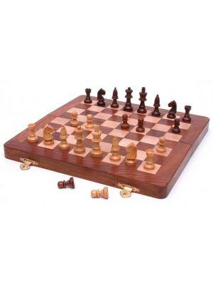 Folding Wood Chess Set 10
