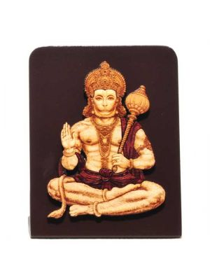 Laser Etched Hanuman with Stand 4