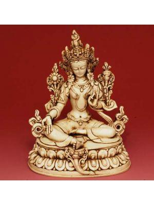 Wht Figure Tara Antique 6