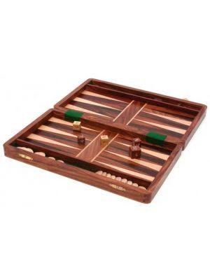 Wood Backgammon Set 12