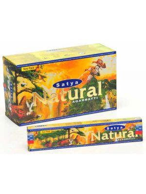 Satya Natural Incense 15g. Box/12